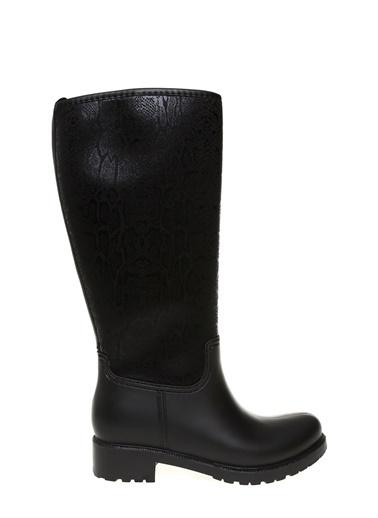 T-Box Yağmur Çizmesi Siyah